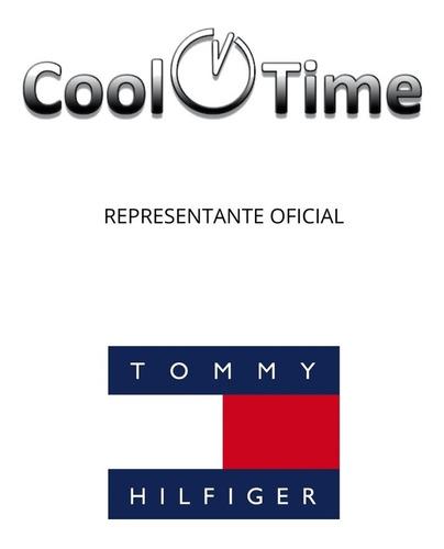reloj tommy hilfiger hombre barclay 1791716 cuero sumergible