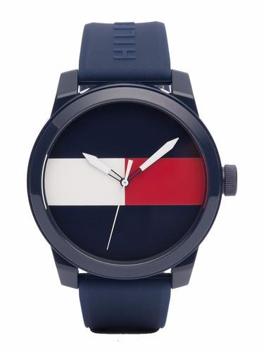 reloj tommy hilfiger malla de caucho 1791322