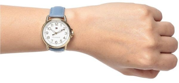 82bbbf632d56 Reloj Tommy Hilfiger 1781653 - Mujer Malla Cuero Celeste -   4.995 ...