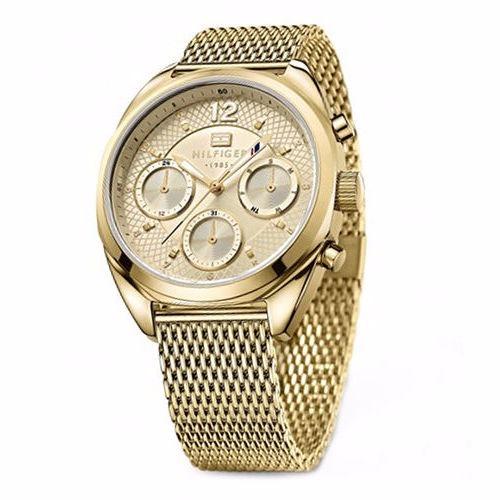 Reloj Tommy Hilfiger Para Dama Dorado Original -   2 571cc7ce107b