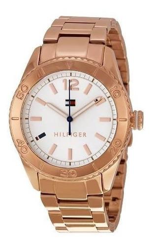 reloj tommy hilfiger rose goldtone 1781567   envio gratis