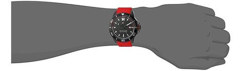 reloj tommy hilfiger wade silicón rojo hombre 1791264