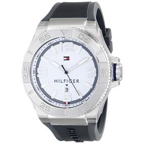 93a1dc4277cb Tommy Hilfiger Gris Silicona Hombre 1790801 - Relojes para Hombre en Mercado  Libre Colombia