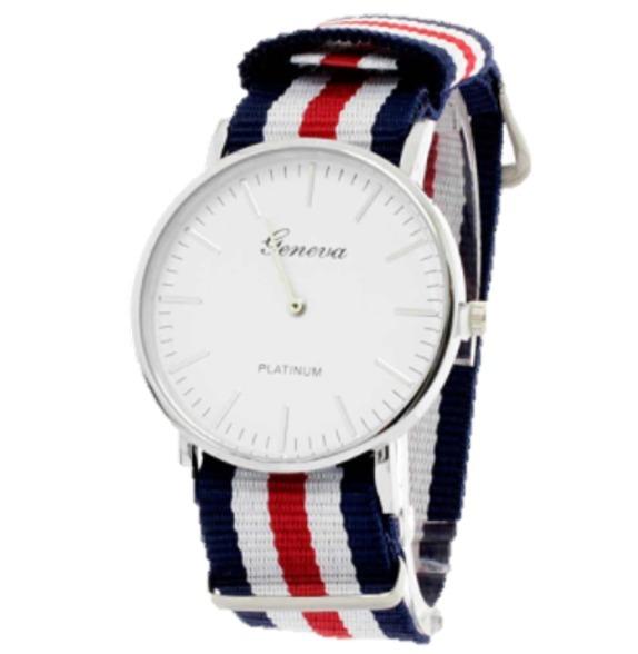 e87d571c6 Reloj Tommy White Análogo Deportivo Correa Tela - $ 239.00 en ...