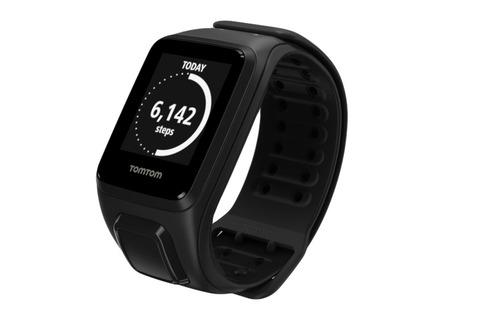 reloj tomtom spark music gps fitness watch negro