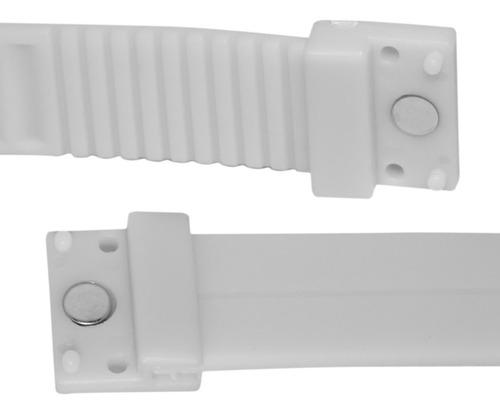 reloj touch digital deportivo de pulsera color blanco m1142
