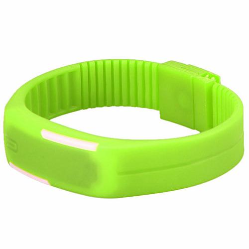 reloj touch digital deportivo de pulsera color verde m1142