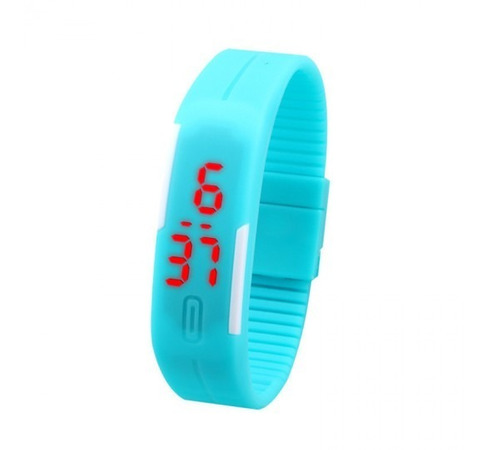 reloj touch led digital unisex deportivo