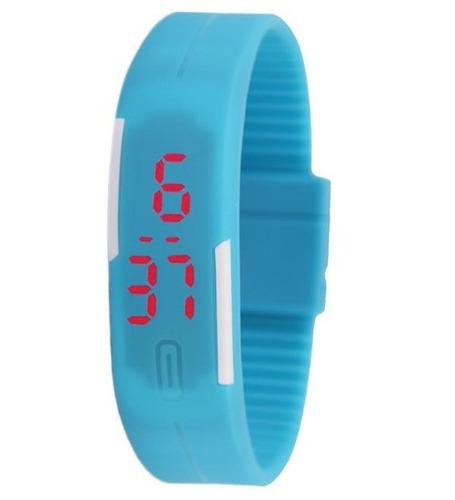reloj touch led digital unisex deportivo varios colores moda