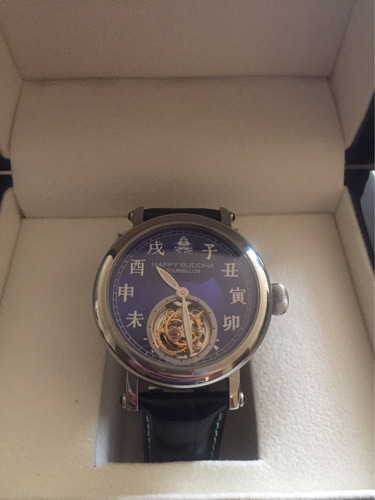 reloj tourbillon happy buddha original envío gratis!