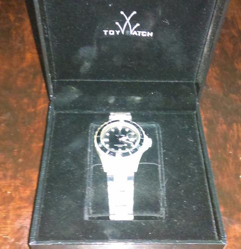 reloj toy watch plasteramic transparente