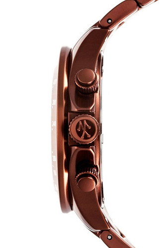 reloj toywatch me12br marrón masculino