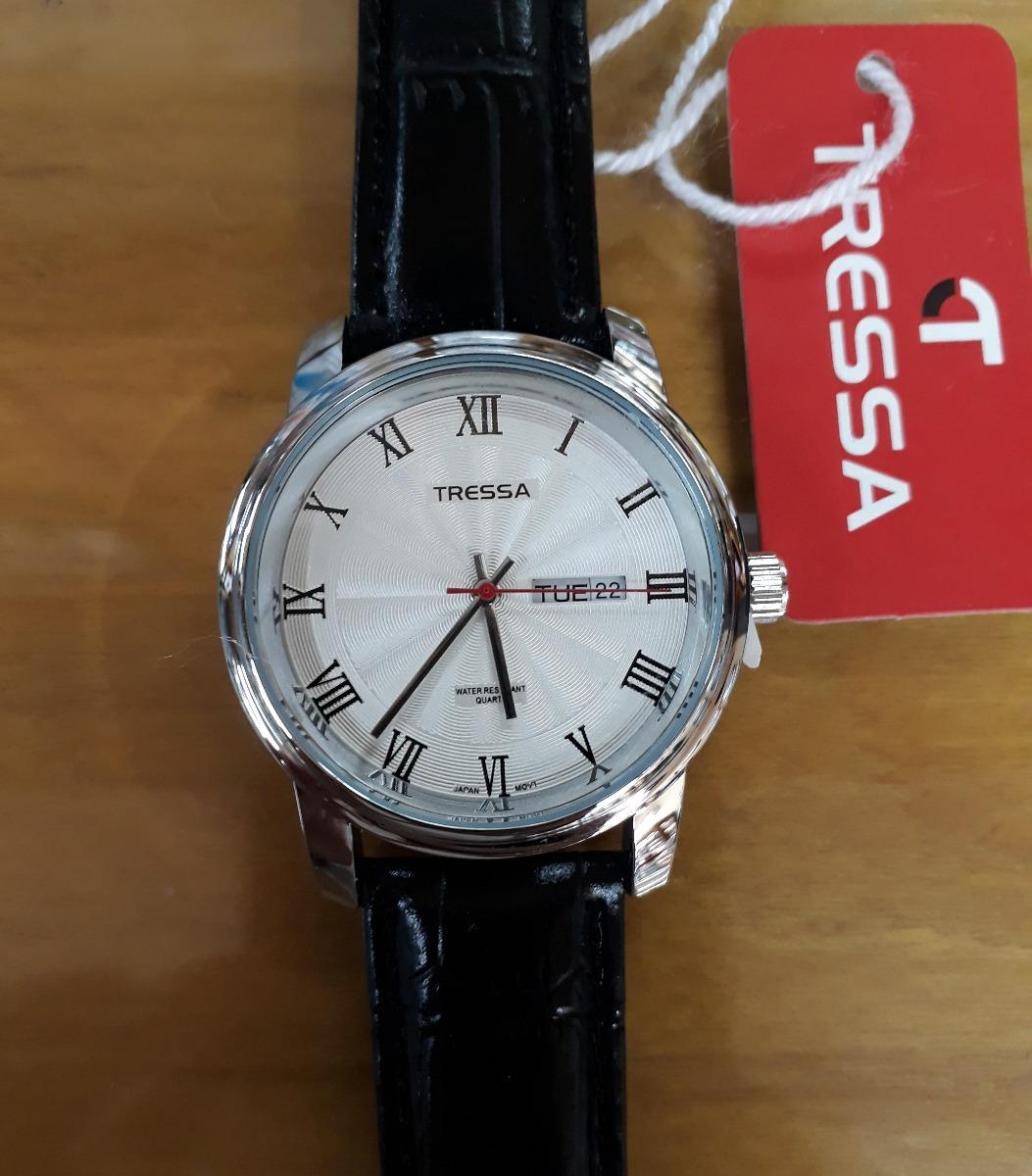 reloj tressa barry-1 malla de cuero doble calendario hombre. Cargando zoom. e8a198365adf