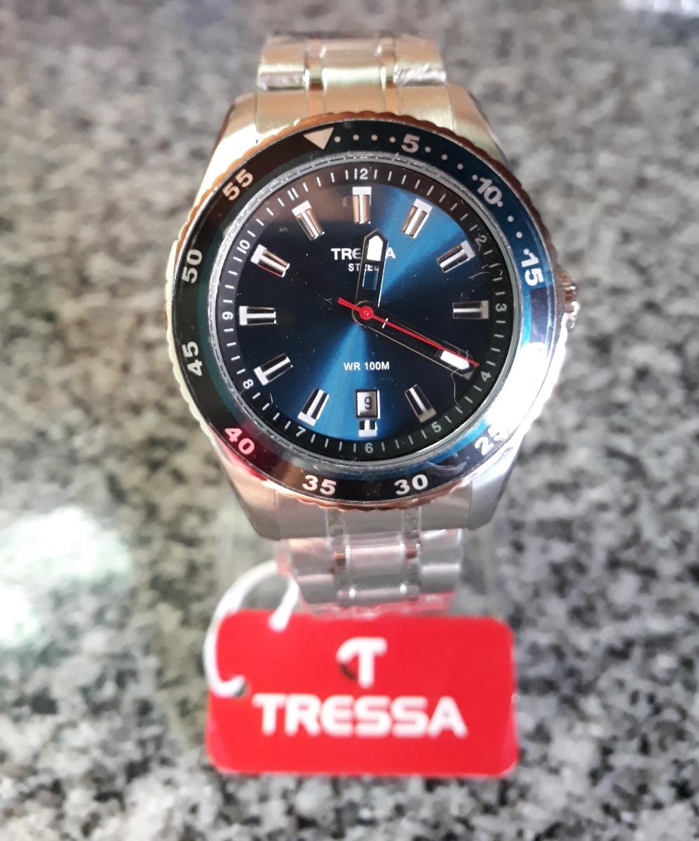 b3e6252352a7 reloj tressa caballero modelo kirk sumergible fondo azul. Cargando zoom.