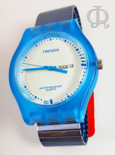 reloj tressa chess elastizado elegi color
