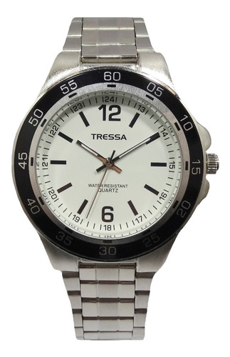 reloj tressa goya hombre nuevos acero garantia oficial 12m.
