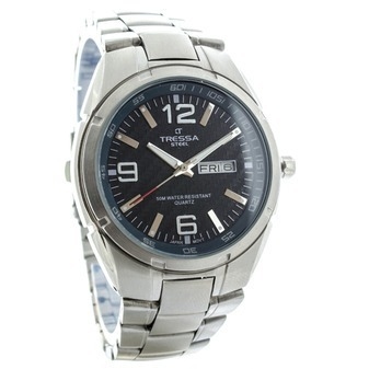 Reloj Tressa Hombre Caja Y Malla De Acero Sum 50m! -   2.590 780da4afc6fd