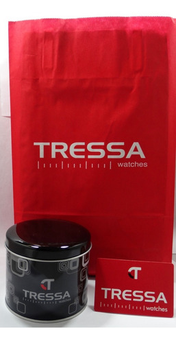 reloj tressa katy malla acero elastizada original garantía