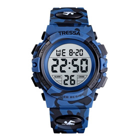 Reloj Tressa Original Digital Boy Nuevo! Hombre-niño