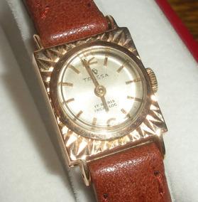 Reloj Tressa Suizo Dama Oro 18k Macizo Antiguo P Regalo!