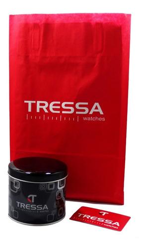reloj tressa type dama nuevo acero garantia oficial 12 meses