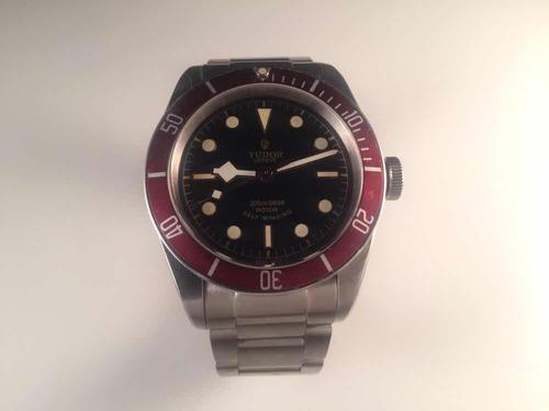 reloj tudor heritage black bay 41 mm ,automático de acero