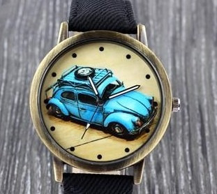 reloj unisex escarabajo volkswagen exclusividad !!!