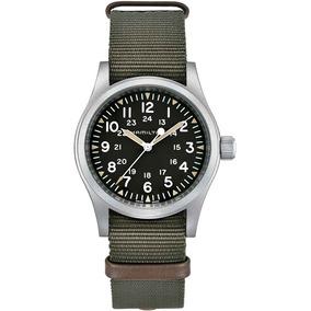 Hamilton Field Khaki Unisex Verde Militar Reloj H69439931 PXkuZi