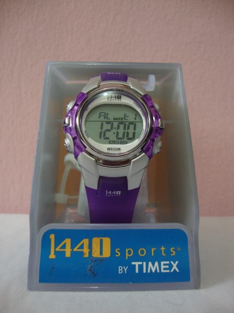 7e0634d45f59 reloj unisex marca timex sport 1440 modelo wr50m. Cargando zoom.