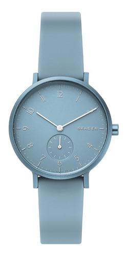 reloj unisex skagen aaren kulor skw2764 color azul celeste