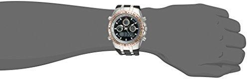 reloj u.s. polo assn. sport men's quartz metal and rubber