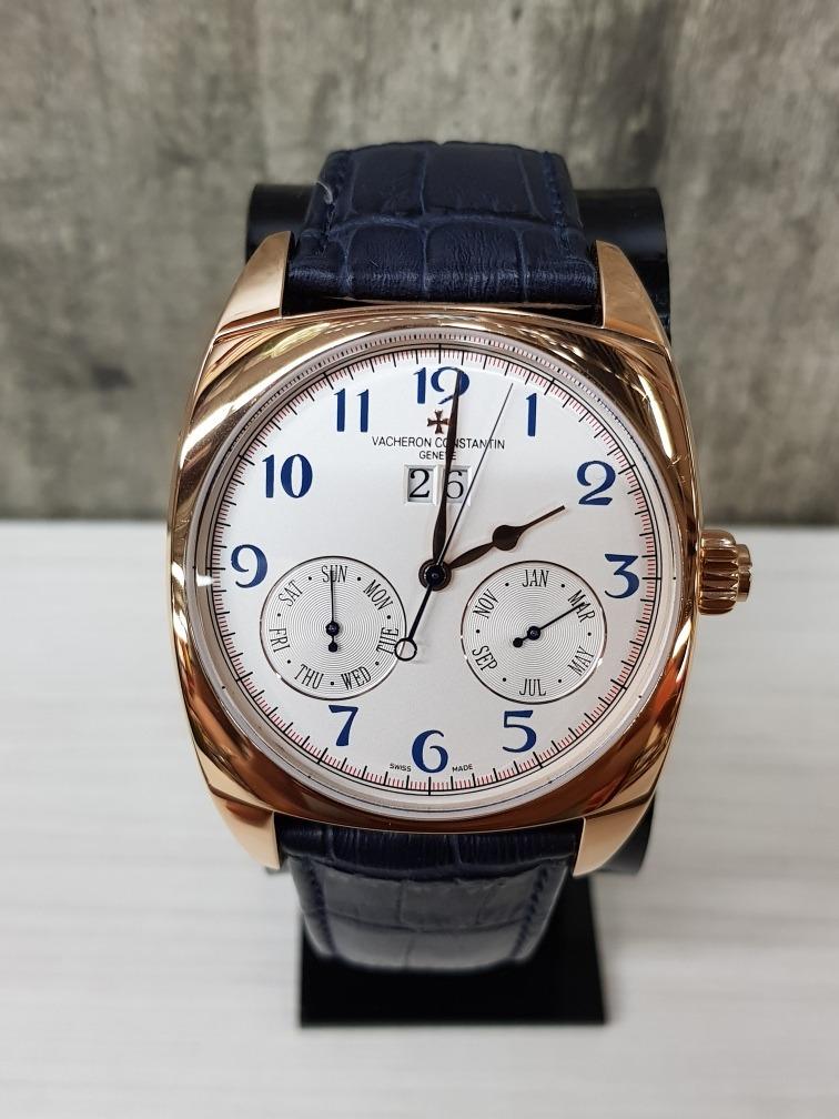 ff740863079 reloj vacheron constantin azul 40mm (fotos reales). Cargando zoom.