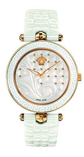 fa259af86 Reloj Versace De Mujer De Acero Inoxidable Y Cuarzo Suizo Va ...
