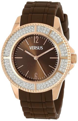 reloj versace sgm marrón femenino