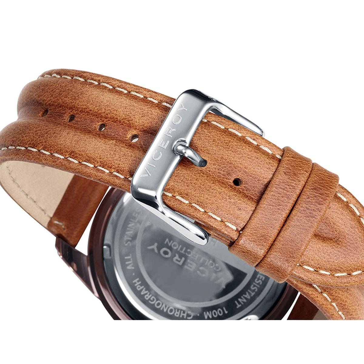 52baecdcfae1 Reloj Viceroy Hombre 471113-47 Marron Claro -   979.900 en Mercado Libre