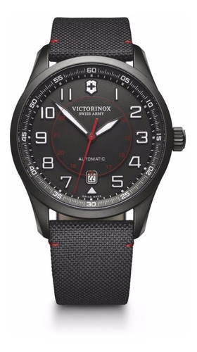 reloj victorinox airboss mechanical black edition