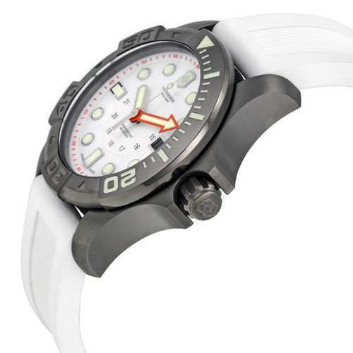 reloj victorinox army dive master 500 caucho blanco 241559