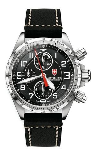 reloj victorinox chronograph pro mechanical 241451   hombre