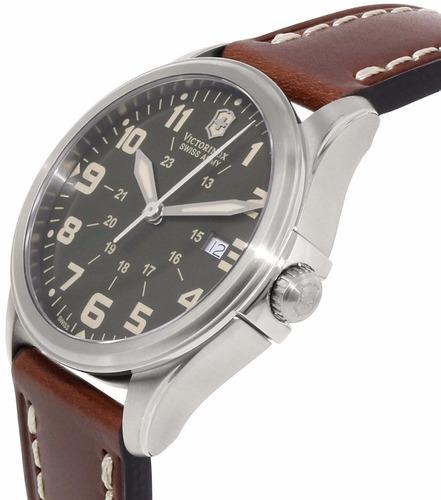 reloj victorinox infantry vintage café cronógrafo 241309