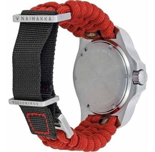 reloj victorinox inox paracord 241744 hombre | envío gratis