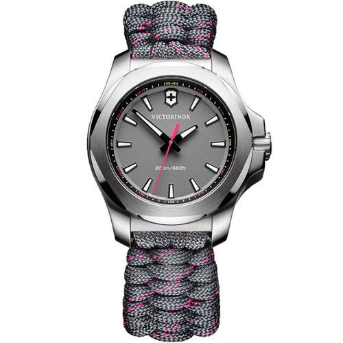 reloj victorinox inox v 241771 paracord para dama ghiberti