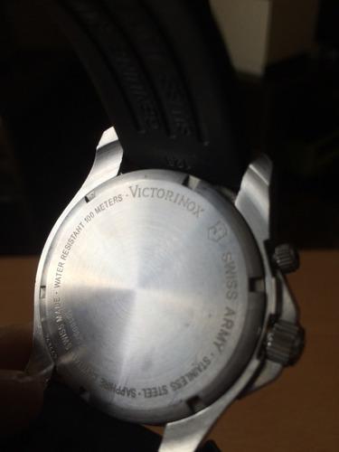 reloj victorinox maverik caucho