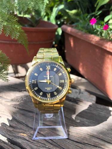 reloj victorinox metal caballero excelente calidad