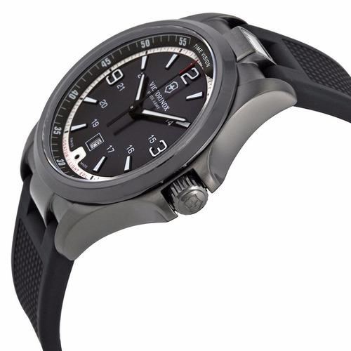 reloj victorinox night vision caucho negro 241596