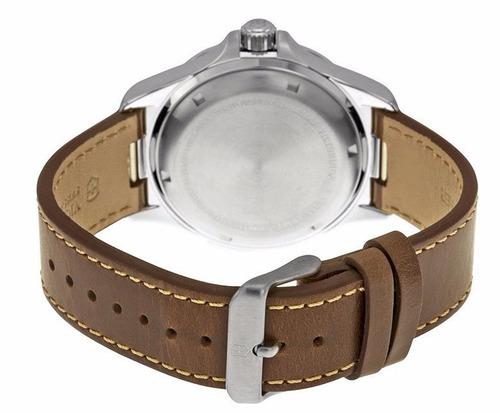 reloj victorinox night vision piel café negro 249068