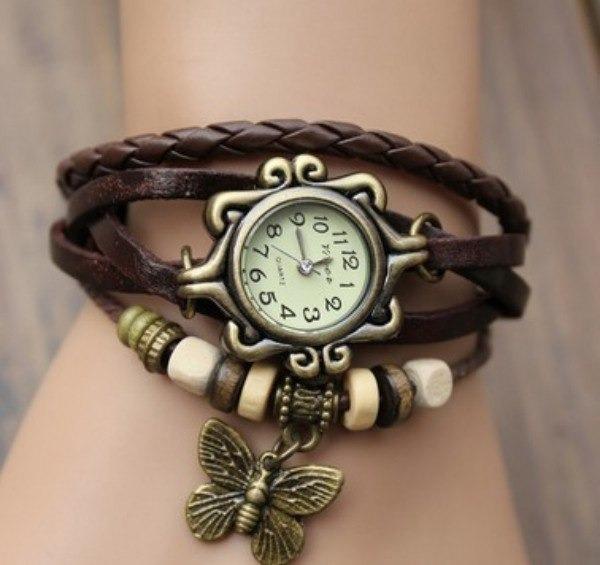 Reloj Vintage Con Dije De Mariposa Para Dama -   79.00 en Mercado Libre 682fce6f5971