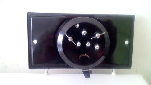reloj vintage de cuerda adorno paisaje despertador de mesa