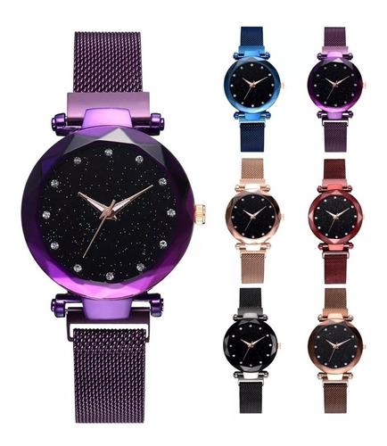 reloj vintage extensible magnetico original mayoreo colores