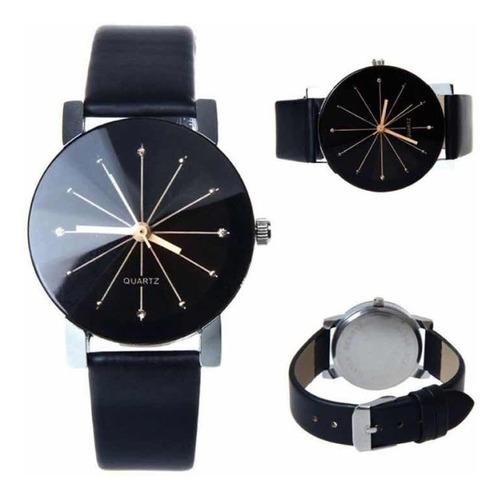 reloj vintage mujer diamantes cristal piel vinil moda dama