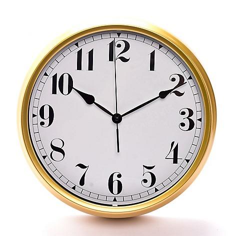 1fbac3c64697 Reloj Vintage Oro 36 Cm Color Oro De Pared Fb -   159.990 en Mercado ...